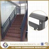 Напольная алюминиевая загородка лестницы