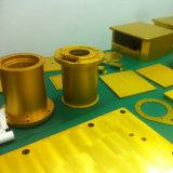 peças de alumínio fazendo à máquina do CNC 5-Axis com entrega alerta