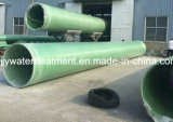 Tubo del abastecimiento de agua de la fibra de vidrio de GRP FRP