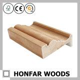 Molde de madeira do frame de porta do folheado