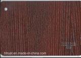 De houten Film/de Folie van pvc van de Korrel Decoratieve voor Pers Bgl078-083 van het Membraan van het Kabinet/van de Deur de Vacuüm
