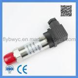 Transmissor de pressão difundido estojo compato do silicone da exatidão elevada com conetor retangular