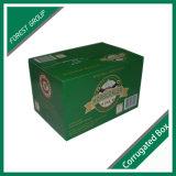 24 Verpakkende Vakjes van het Document van het Flessenglas de Bier Golf
