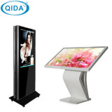 Aangepaste Binnen OpenluchtSignage die van het Scherm van de Aanraking LCD de Kiosk van de Vertoning voor Restaurant adverteren