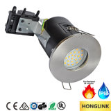 Diodo emissor de luz avaliado incêndio GU10 Downlight, luz do banheiro IP65, teto Recessed GU10 Downlight