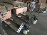 2.0t de vlotte Vrachtwagen van de Pallet van de Hand van het Roestvrij staal van de Oppervlakte (NR20)