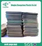 Stuoia ad alta densità Premium della gomma piuma di Eco della stuoia di yoga del sughero stampata Eco di forma fisica di qualità