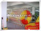 El color mezclado de calidad superior de PVC/TPU puntea el barril que recorre del agua inflable