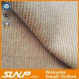 Tessuto del velluto a coste fatto di cotone 100%