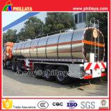 De 3 essieux de camion remorque en aluminium de réservoir semi à vendre