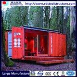 Casa de lujo prefabricada modular del envase de la estructura de acero