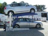 Подъем стоянкы автомобилей двойного штабелеукладчика автомобиля угла палубы легкий