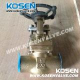 Выкованные бронзовые запорные заслонки (CL800)