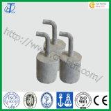 ISOの証明書亜鉛犠牲的な陽極鋳造の陽極