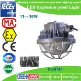 Luz à prova de explosões do diodo emissor de luz da mineração 12W-30W para Passway perigoso