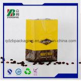 Примите изготовленный на заказ мешок пластичный упаковывать кофеего