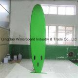 Grüne Farben-Fisch-rutschfester Auflage-Form-Entwurfs-aufblasbarer Paddel-Brandung-Vorstand