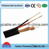 Cable de transmisión RG6 + 2c para el cable coaxial del CCTV de CATV