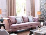 Sofa en bois classique de salle de séjour de meubles de qualité