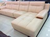 Самомоднейший l софа формы, самомоднейшая кожаный софа (SA27)