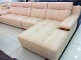 L moderne sofa de forme, sofa en cuir moderne (SA27)