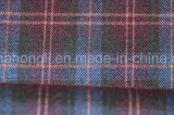 Tessuto di T/R tinto filato, tessuto del plaid, 65%Polyester 32%Rayon 3%Spandex, 240GSM