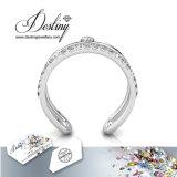 Het Kristal van de Juwelen van het lot van Modieuze Ring Swarovski