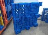 Assoalho do HDPE da capacidade de carga pesada que empilha a pálete plástica do uso para a venda