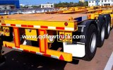 Venda quente! CIMC 40ft/20ft Container Skeleton Trailer