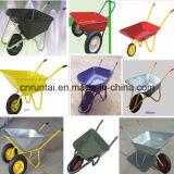O zinco chapeou/carrinho de mão de roda/carro galvanizados da roda