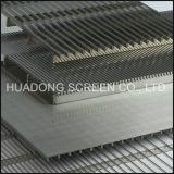 Bildschirm-Panel-flacher Keil-Draht gekerbter Bildschirm SS-304 Johnson täfelt Preise