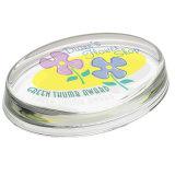 Paperweight a cristallo ovale per il regalo di cerimonia nuziale
