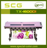 Non-Stretch Fabric를 위한 생생한 Bright Color 1.6m Textile Printer