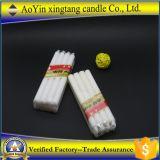 Vela blanca de la cera de la alta calidad usada para votivo