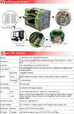 8 impressora Multifunctional Flatbed UV do tamanho da cor A3/A4 com o diodo emissor de luz para a impressão CD do cartão da identificação da caixa do telefone