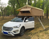 キャンプ車のガラス繊維の屋外の堅いシェルの屋根の上のテント