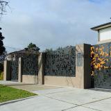Panneau moderne en aluminium perforé de façade de bâtiment de tôle