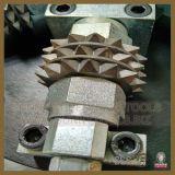 Granite를 위한 회전하는 Diamond 부시 Hammer Roller