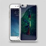 pour cas de couverture de cellules/téléphone mobile de densité d'impression transparente de Samsung d'iPhone l'anti