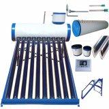 De ZonneCollector van de lage Druk (Verwarmer van het Hete Water van het Roestvrij staal de Zonne)