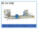 La máquina de la ventana del CNC del corte principal dos vio