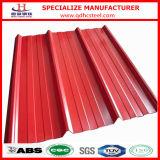 Рифлёный Prepainted лист крыши оцинкованной стали