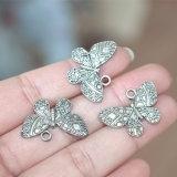 Encantos de flutuação do Locket da borboleta para a jóia que faz colares dos braceletes Handmade