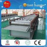Roulis en acier galvanisé normal de feuille de toit de tuile d'exportation formant la machine