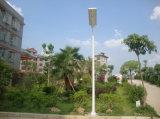 5 Straatlantaarns van de Tuin van de Garantie van de jaar de Zonne Lichte Slimme Geïntegreerder Zonne allen in