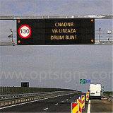 Signe instructif de sécurité routière d'éclairage LED de speed-way de route d'autoroute d'Optraffic