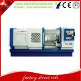 Precio de fábrica horizontal del torno del CNC de la base plana del regulador de Ck6136 Fanuc