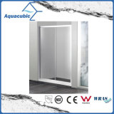 Pièce de douche de salle de bains et pièce jointe simples en verre de douche (AE-LDPL802)