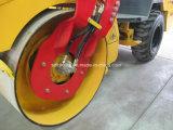 3トンの単一のドラム道ローラー、単一のドラムアスファルトローラー、土のコンパクター