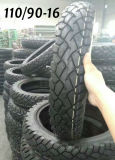 Schlauchloser Reifen des Motorrad-Reifen-110/90-16